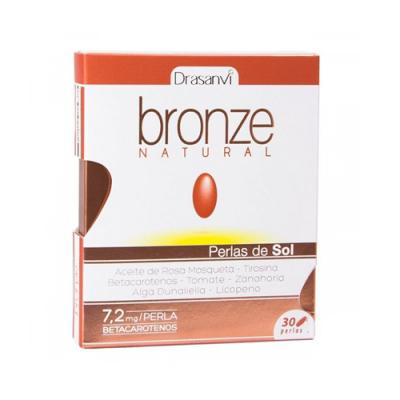 Bronze Natural Perlas de Sol 30 Cápsulas Drasanvi