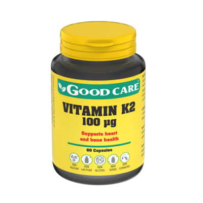 Vitamin K2 100ug 60 Cápsulas Good Care