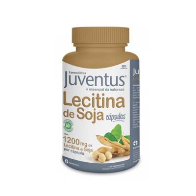 Lecitina de Soja 1200mg 90 Cápsulas Juventus Farmodiética