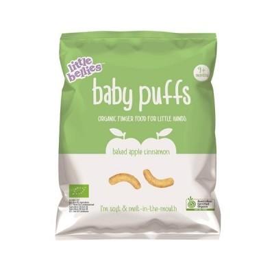 Snack Baby Puffs Milho, Maçã e Canela Bio