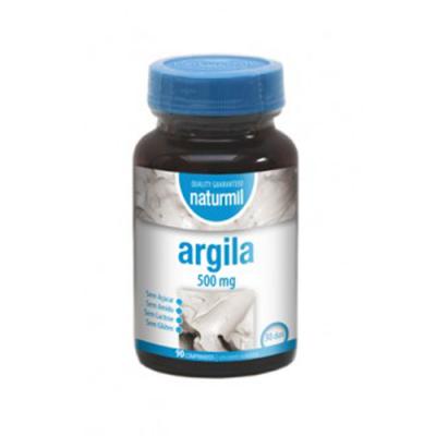 Argila 500mg 90 Comprimidos Naturmil