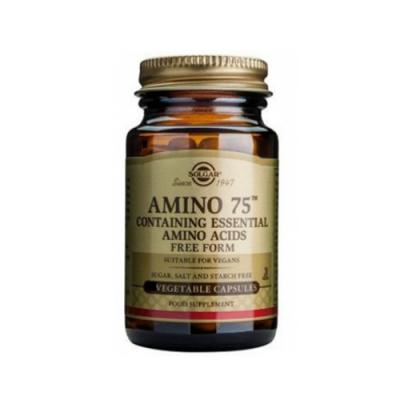 Aminoácidos Essenciais (Forma Livre) 30 Cápsulas Solgar