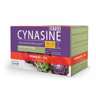 Cynasine Detox Alcachofra e Brassicare 30+10 Ampolas Dietmed