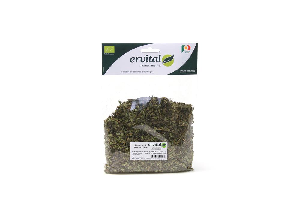 Chá Verde & Tomilho Limão