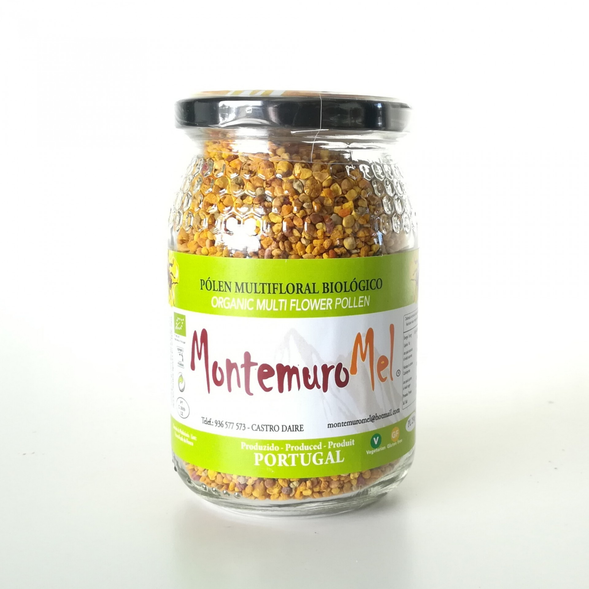 Pólen Multifloral BIO - 220gr - Serra do Montemuro
