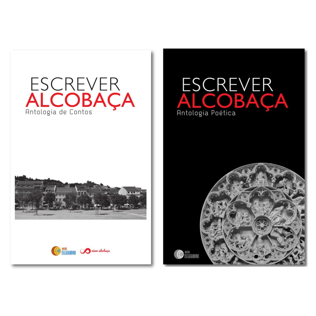 COLEÇÃO COMPLETA - Antologias Escrever Alcobaça
