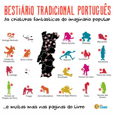 Bestiário Tradicional Português - as criaturas fantásticas do imaginário popular