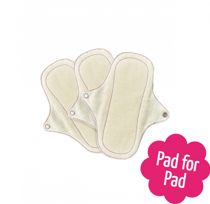 3 PANTYLINERS WITHOU PUL- NATURAL ORGANIC