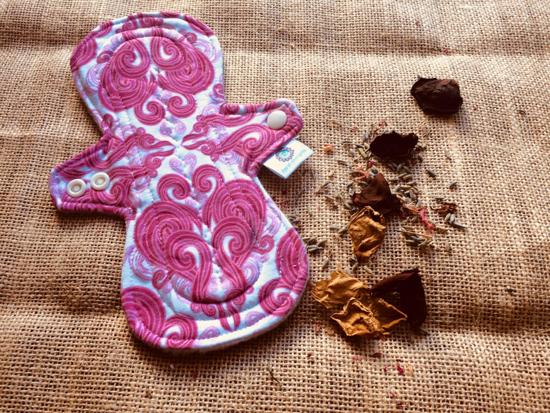 Penso menstrual higiénico reutilizável/cloth menstrual pad