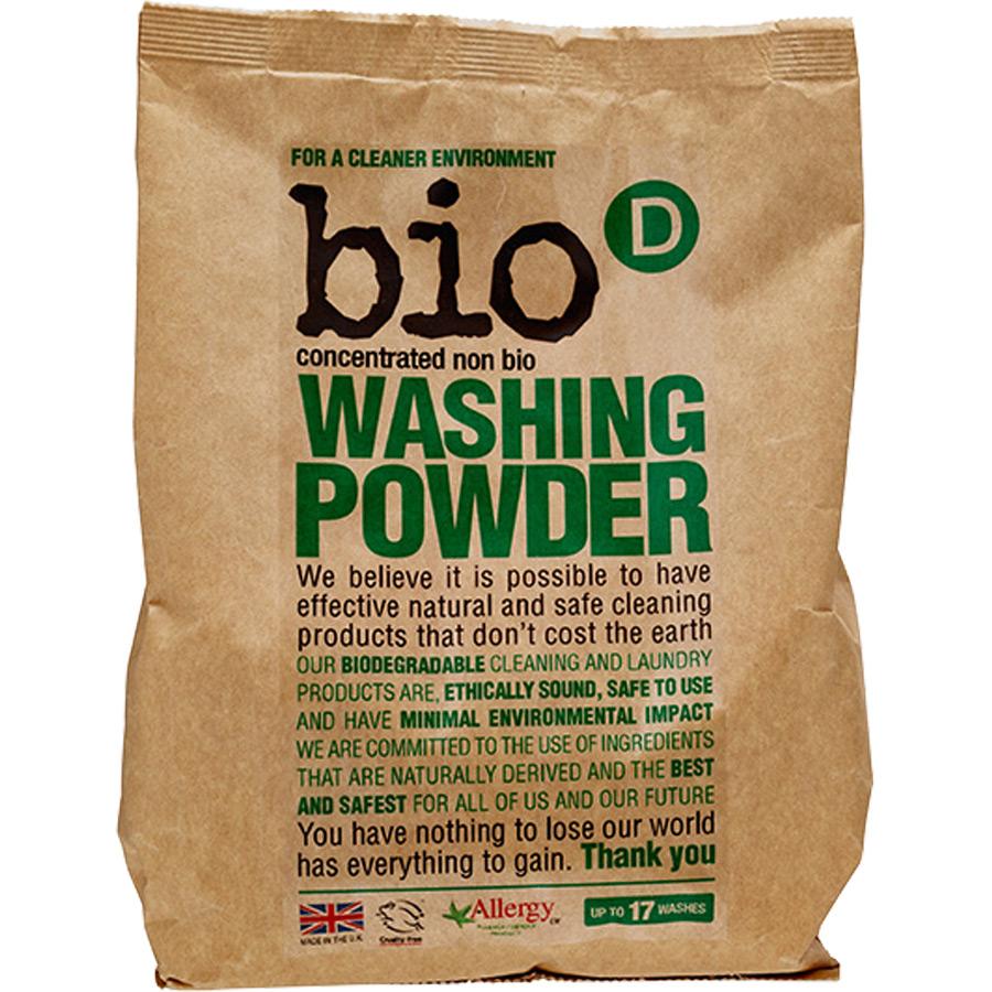 Detergente para roupa Bio-D em pó 1kg