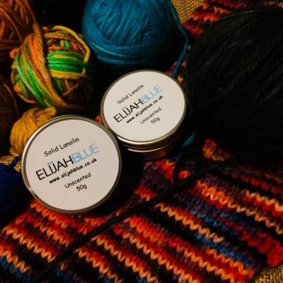 Lanolina sólida/solid lanolin  Elijah Blue