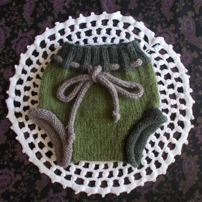 Wool soaker/Capa de la soaker