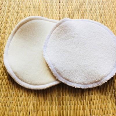 Discos de amamentação de lã /wool nursing pads