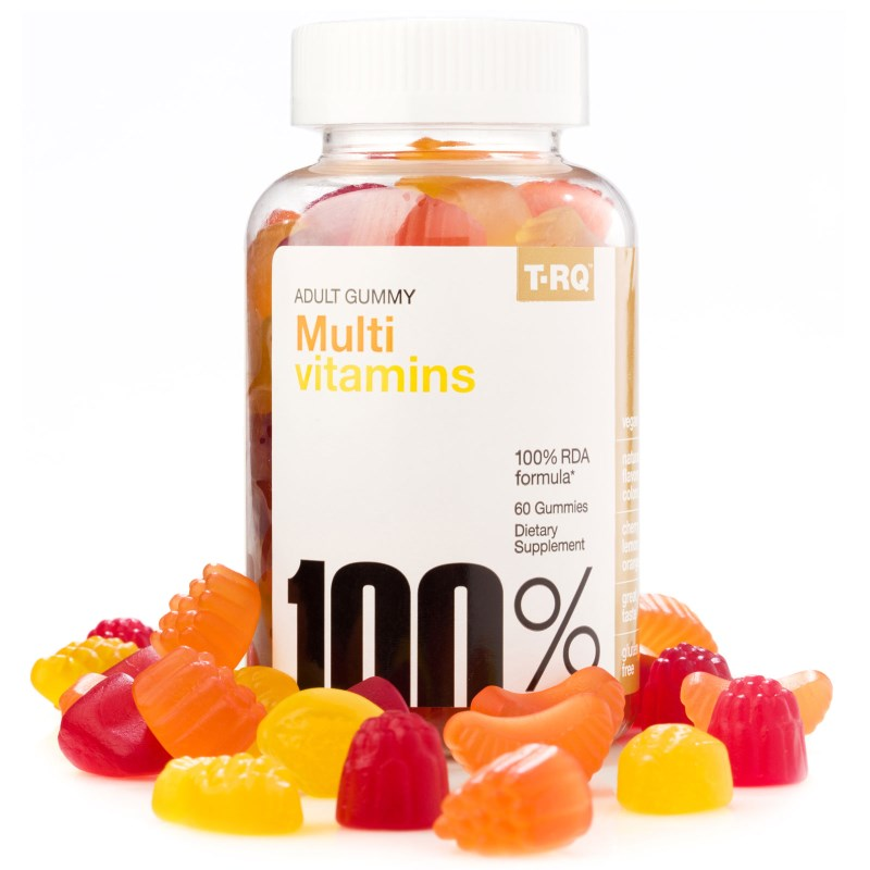 T-RQ: Multi Vitamins, Adult Gummy, 60 Gummies