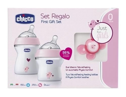 Chicco® - Conjunto NaturalFeeling, Girls