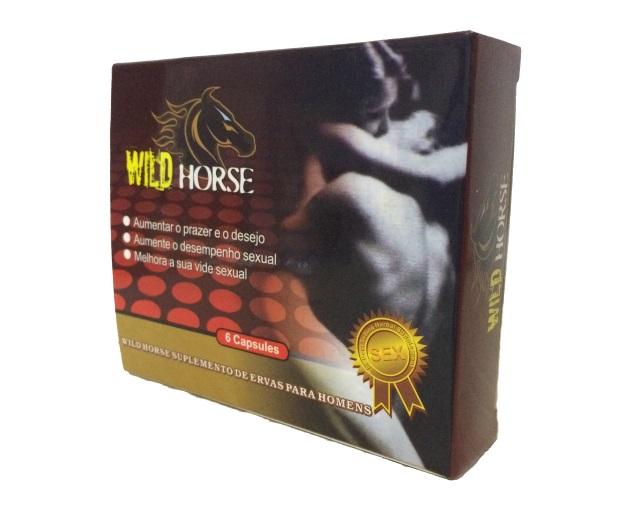 WILD HORSE - 4500mg X 6 Cápsulas