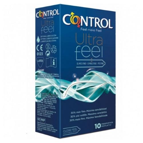 CONTROL ULTRAFEEL - Cx 10 Preservativos