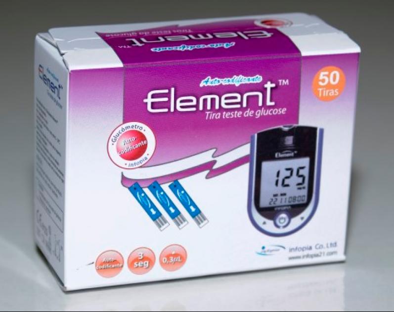 Tiras-Teste Element™ 50 uni.