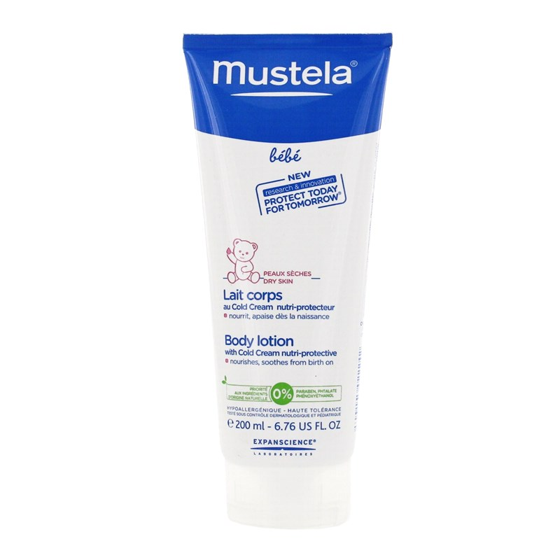 MUSTELA® - Body Lotion with Cold Cream nutri-protective