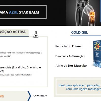 STAR BALM® COLD GEL, 100ml