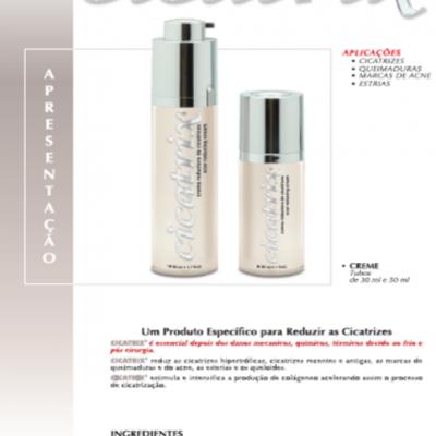 CICATRIX - Creme Redutor de Cicatrizes