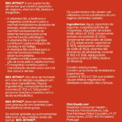 Bio-Ritmo® - Ampolas, 20uni
