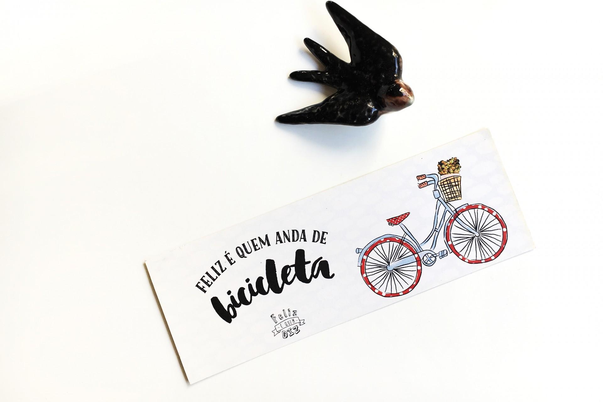 Marcador . Bicicleta