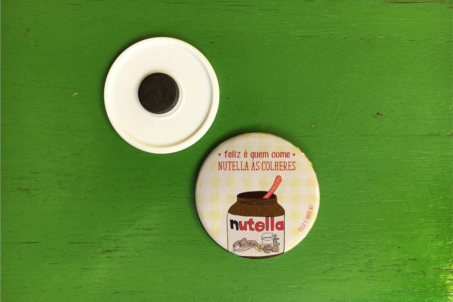 Crachá / Íman . Nutella