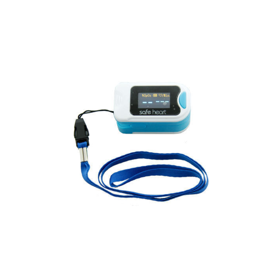 Pulsoxímetro portátil OLED