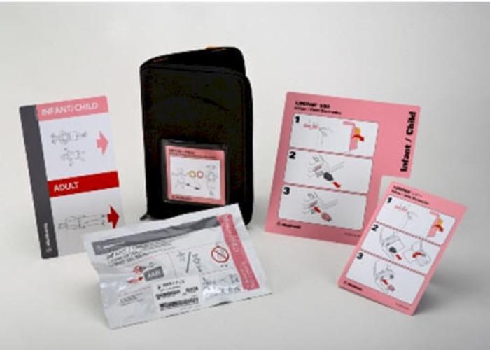 Kit Inicial Elétrodos Infantil/pediátrico
