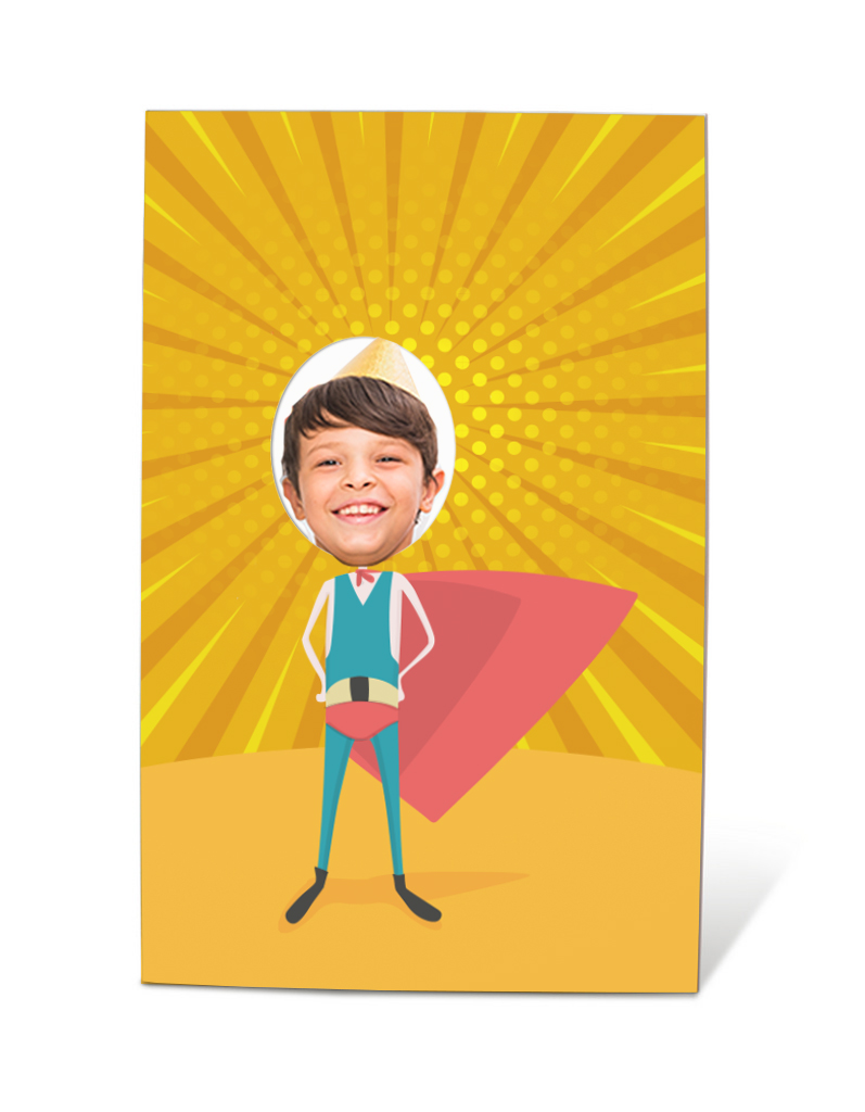 Photobooth super-herói