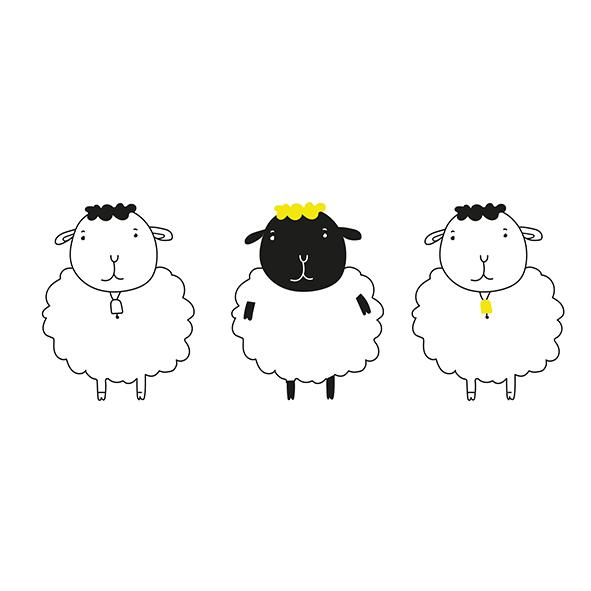As três ovelhas