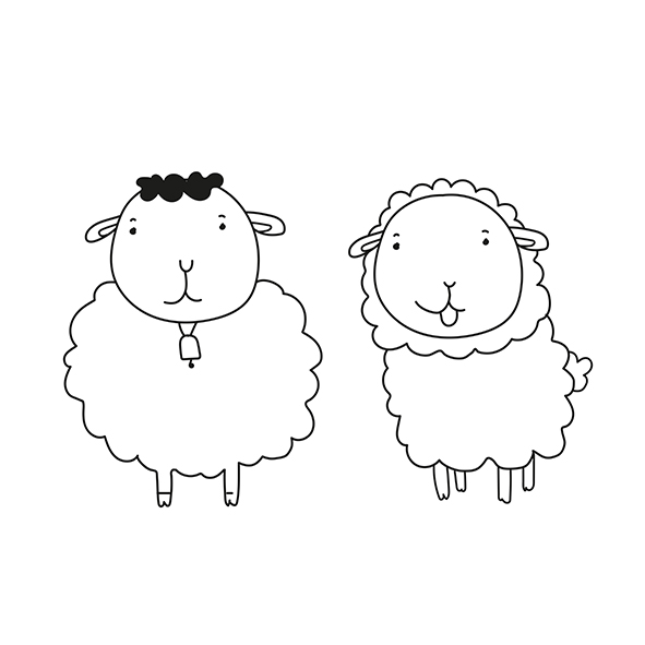 As duas ovelhas 2