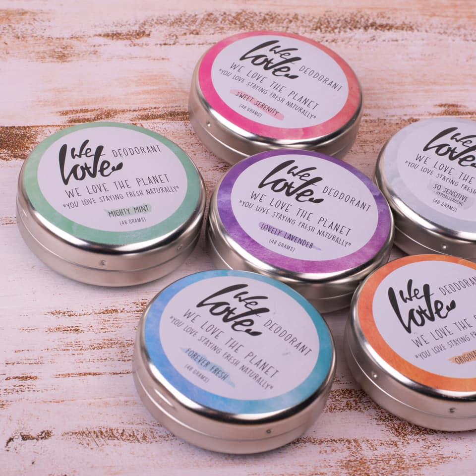 Desodorizante natural bio We Love The Planet - lata