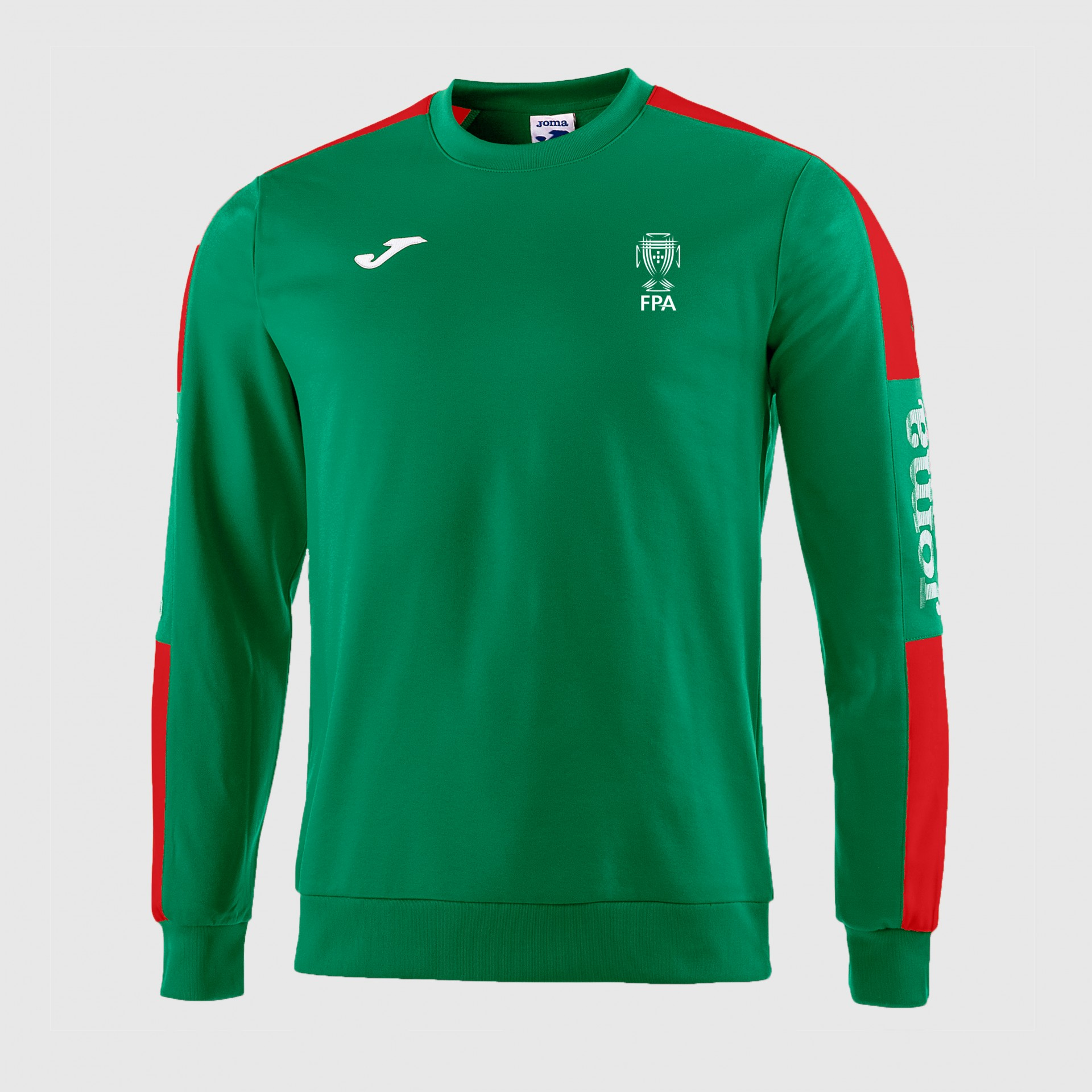 Sweatshirt S/ fecho Seleção Nacional - JOMA