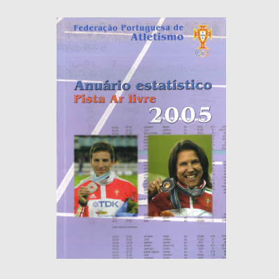 Anuário Estatístico - Pista Ar Livre 2005
