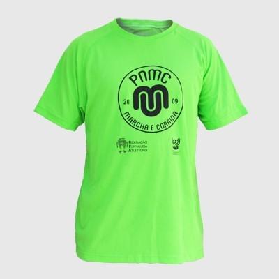 T-Shirt Técnica PNMC - Marcha e Corrida