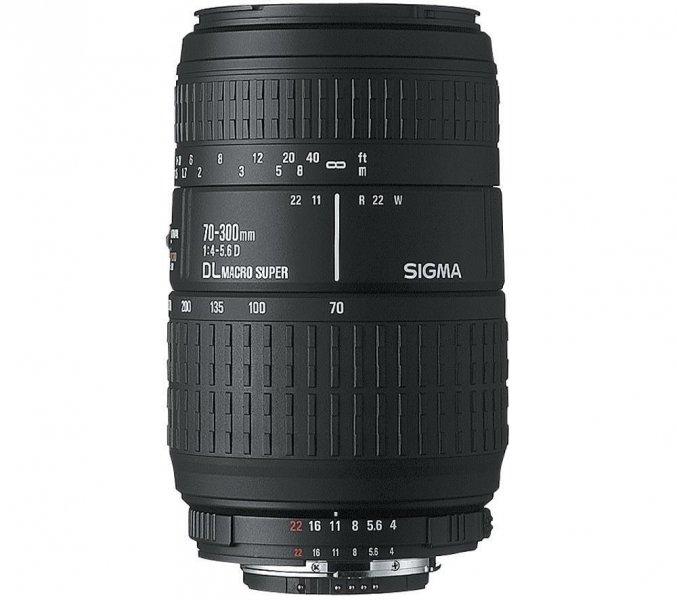 SIGMA Objectiva 70-300 mm F4-5,6 DG Macro