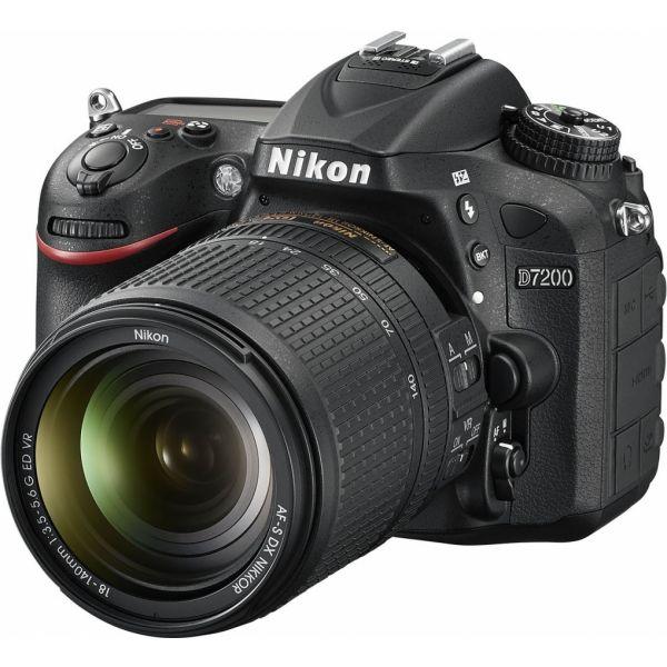 Nikon D7200 Body  +  AF-S DX 18-140 G ED VR