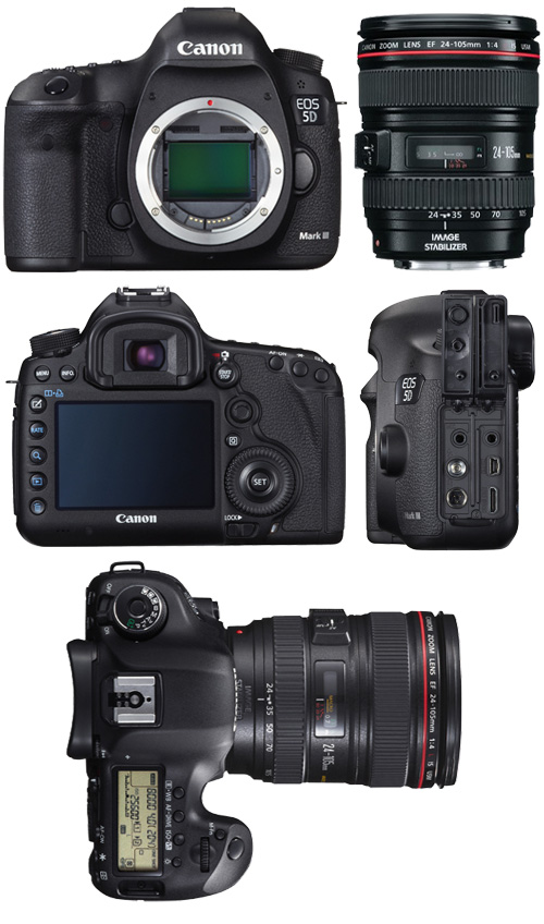 Canon EOS 5D Mark III + Canon 24-105mm f/4,0 L IS USM
