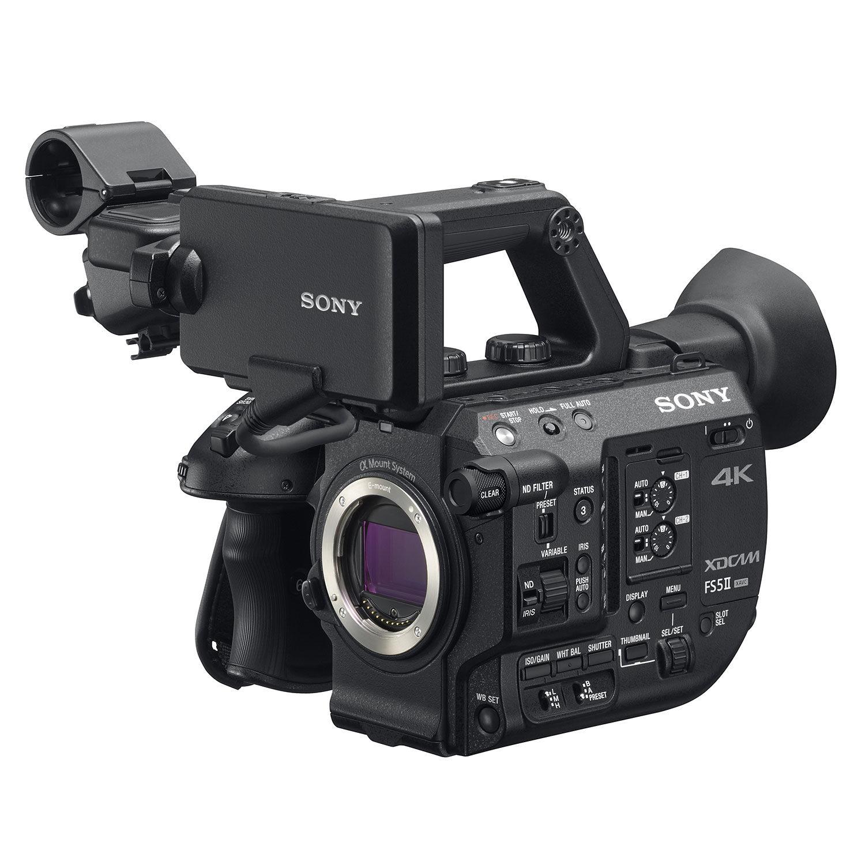 Câmera de vídeo Sony PXW-FS5 II 4K RAW