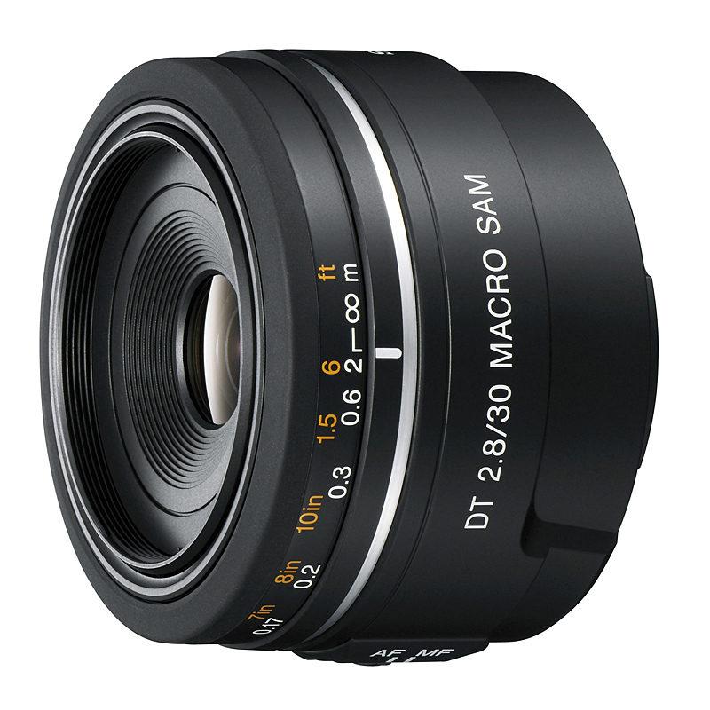 Sony 30mm f/2.8 DT Macro objectief (SAL30M28.AE)