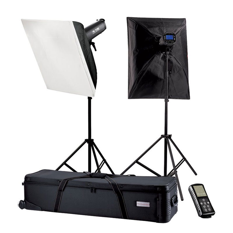Falcon Eyes Studioflitsset TFK-2400L - Tela LCD