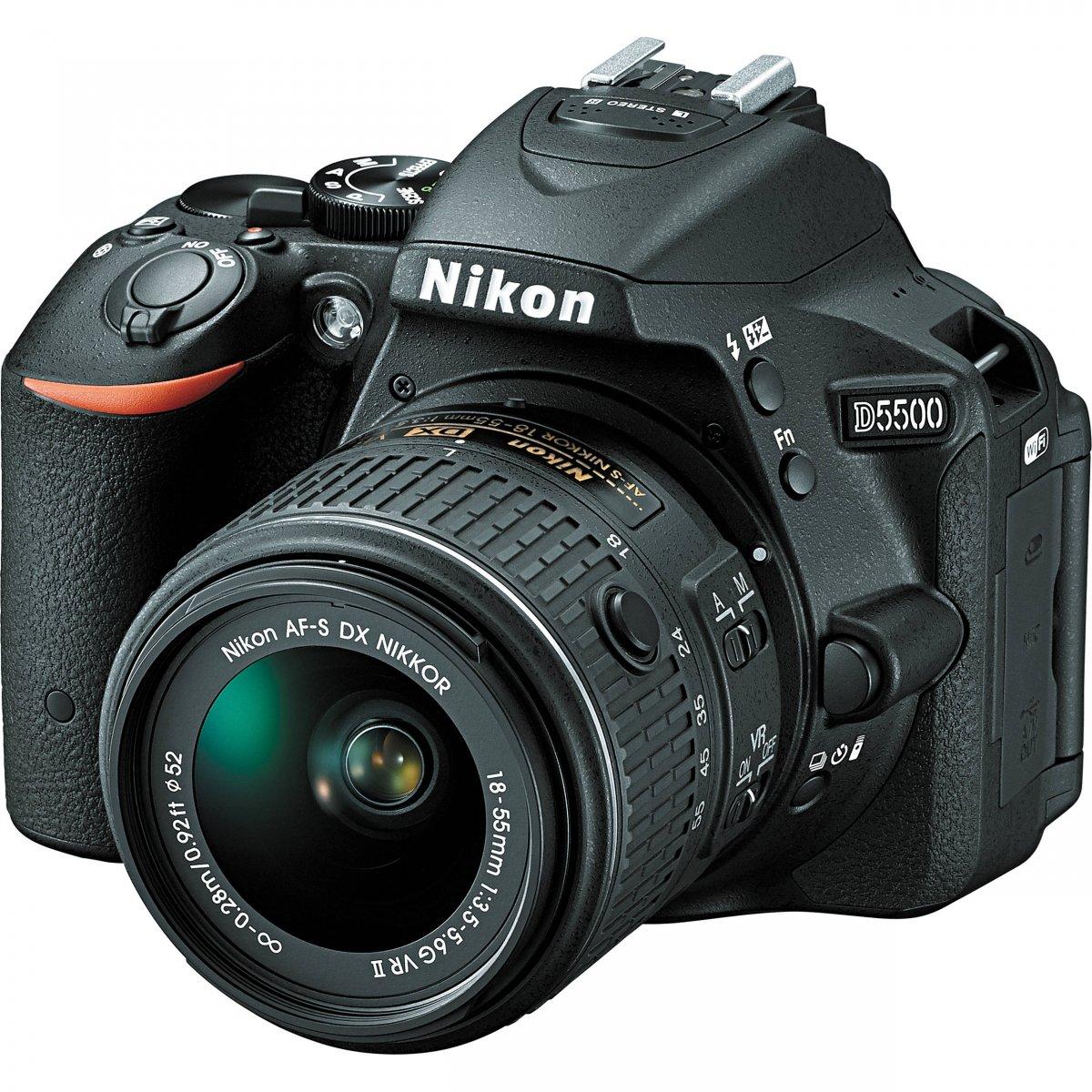 Nikon D5500 Body + AF-S DX 18-55 G VR II