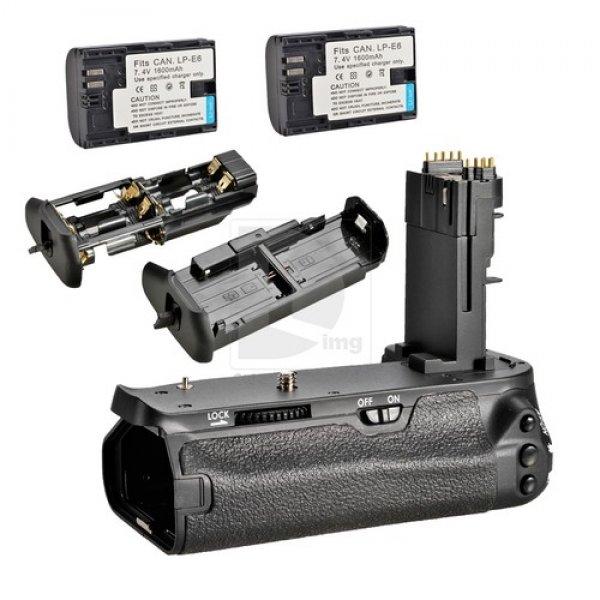 Grip BG-E13 + 2 baterias  para Canon EOS 6D