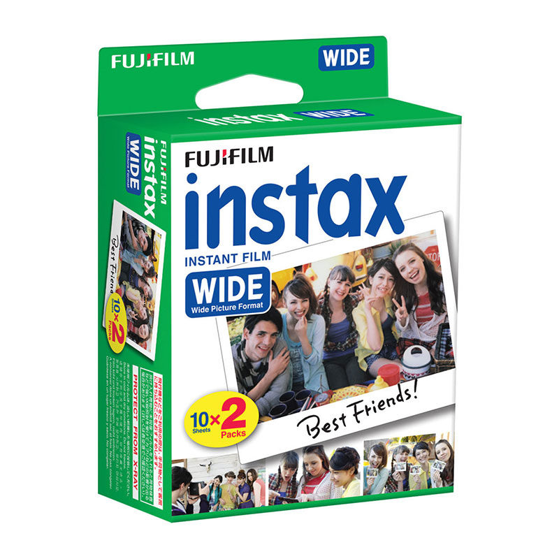 Carga 1x2 Fujifilm Instax Wide Twin Film