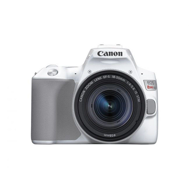 Canon EOS 250D DSLR Branco + 18-55 IS STM