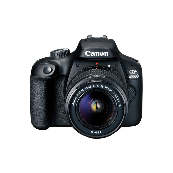 Canon EOS 4000D DSLR + 18-55mm III