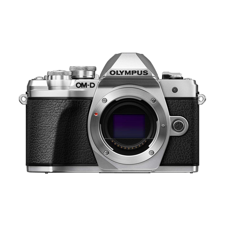 Olympus OM-D E-M10 Mark III Corpo Prata