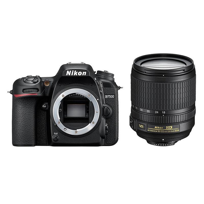 Nikon D7500 DSLR + 18-105mm VR